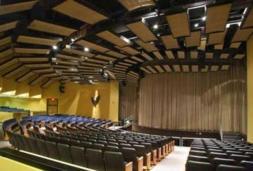 Audio-Visual setup and design for auditoriums
