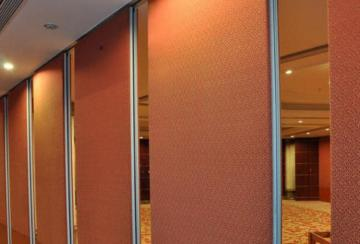 acoustic slide partition