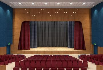 Stage Curtain Opening Styles.