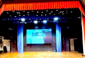 Self Propelling Stage Curtain