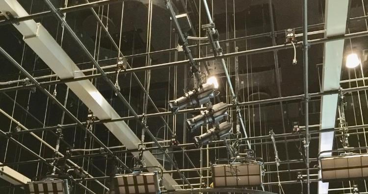 Stage Overhead Grid Fabrication